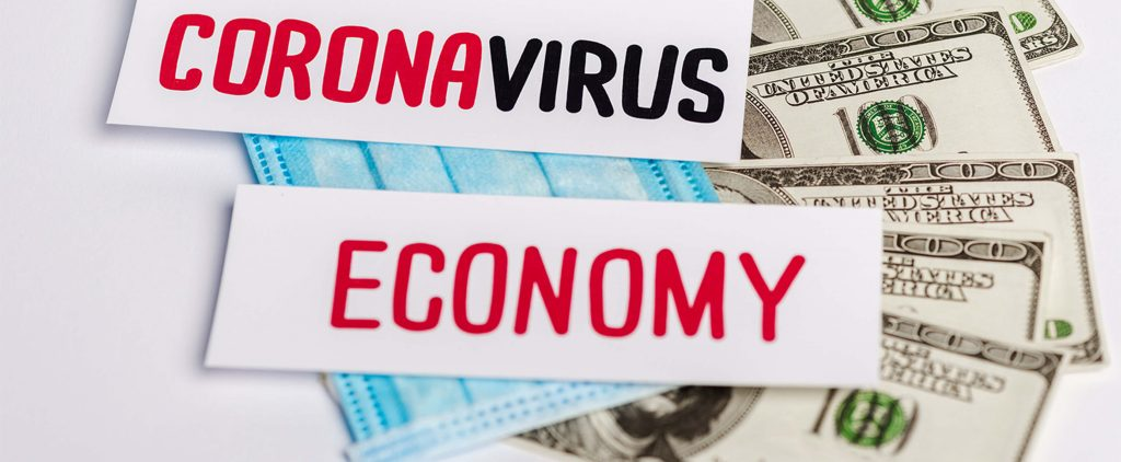 Coronavirus Economy Money Mask