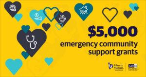 healy senior center donation liberty mutual safeco