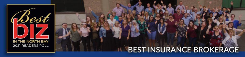northaby biz - best insurance brokerage award